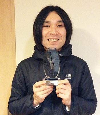 MVP賞トロフィー授与